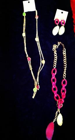 Sparkly & chunky jewelry