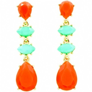 georgias-chunky-coral-orange-and-turquoise-stone-teardrop-earrings-as-seen-in-vogue-patterns-magazine
