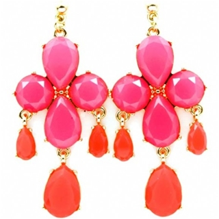 victorias-chunky-hot-pink-stone-chandelier-earrings-as-seen-in-real-simple-magazine
