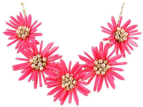 Kate-Spade-New-York---Field-Day-Statement-Necklace-PinkCream---Jewelry