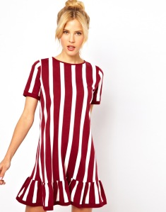 Vday-ASOS-Shift-Dress-With-Ruffle-Hem-In-Vertical-Stripe-Print-25