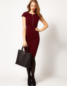 wholesale-karen-millen-dp326-military-tailored-dress-red_5