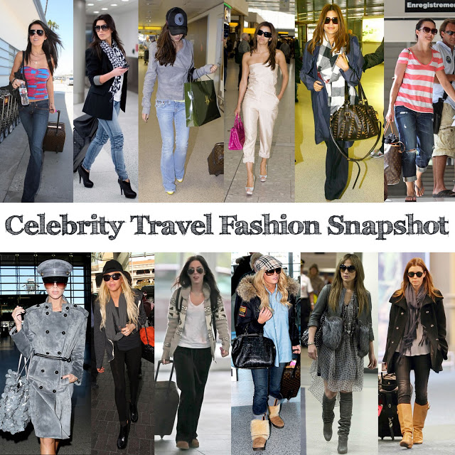 celebrities at airports